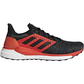 adidas SolarGlide Stability Running Shoes Men Core Black/Core Black/Hi-Res Red